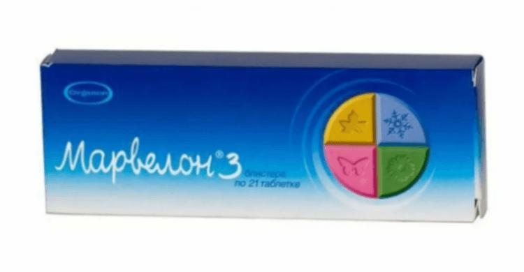 Гормональные таблетки марвелон