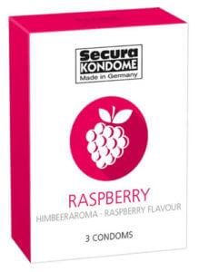 Secura Condoms с малиновым вкусом