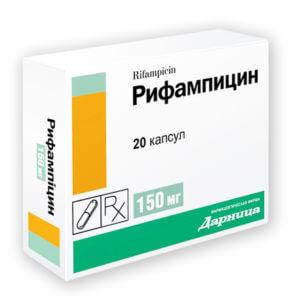 Взаимодействие Рифампицин с КОК