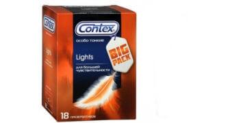 Тонкие презервативы Contex lights