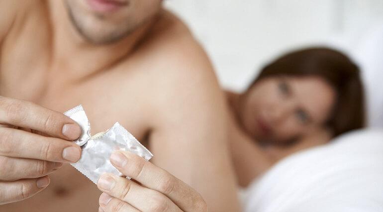 Сняла презерватив во время секса