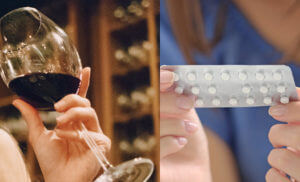 Алкоголь при приеме контрацептивов