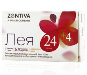 Микродозированные гормональные таблетки Лея