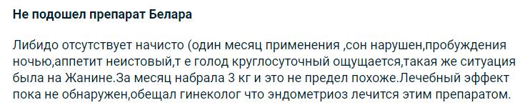 Отрицательный отзыв о Белара