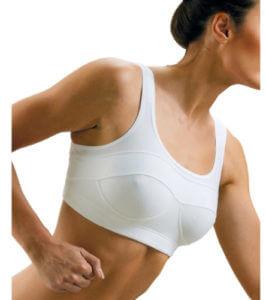 Поддерживающий бюстгальтер при болях в груди
