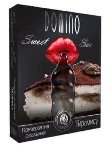 Презервативы Domino с ароматом тирамису