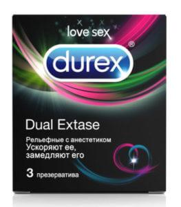 Презервативы durex с анестетиком