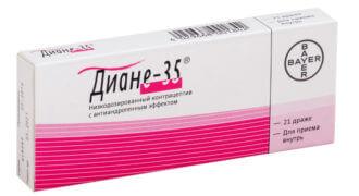 Таблетки Диане 35