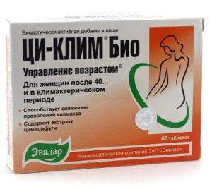 Препарат с фитоэстрогенами Ци-Клим