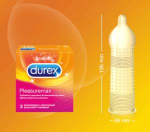 Ребристые презервативы стандартного размера