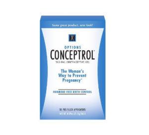 Противозачаточное спермицидное средство Концептрол